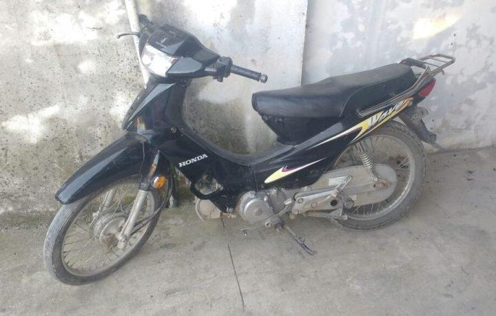 Recuperan moto vehículos robados recientemente