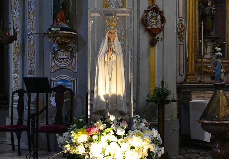 La Virgen peregrina de Fátima llegó a Magdalena